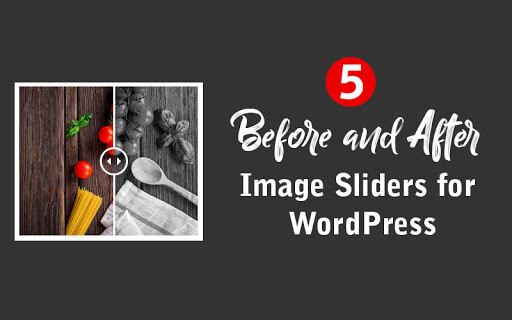 PSD to WordPress Conversion Service 5 Best Before After Slider Plugin