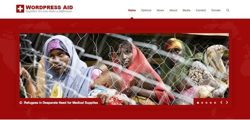 PSD to WordPress Conversion Service 15 Best WordPress Themes for Charity or Nonprofit Organizations