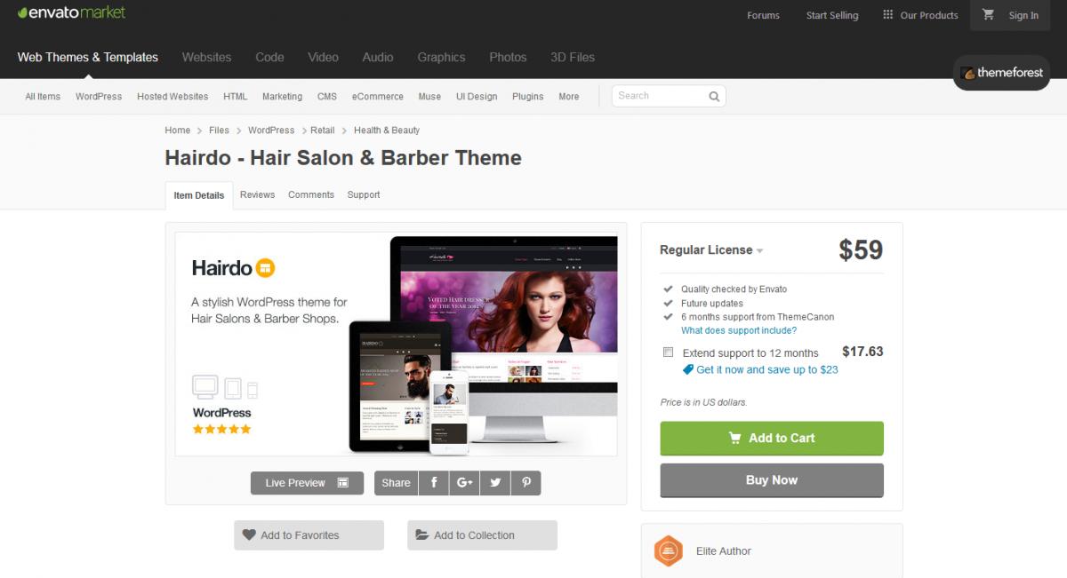 Hairdo theme image
